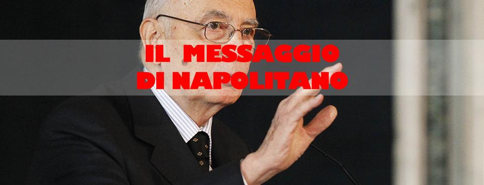 """L'augurio del Presidente della Repubblica Giorgio Napolitano a """"Villaggio Solidale"""""""