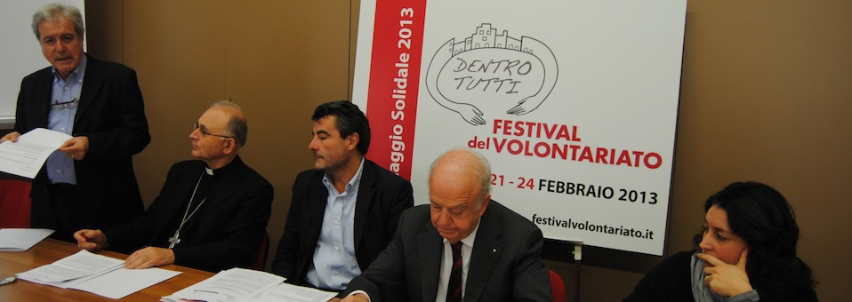A Lucca nel 2013 il &#8220;Festival del volontariato&#8221;